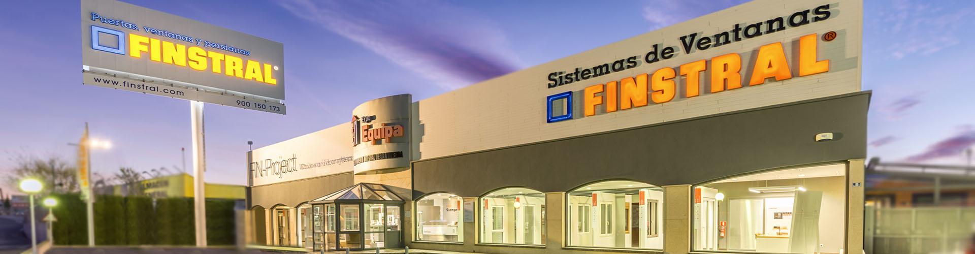 Expoequipa Distribuidora de Finstral en Alicante